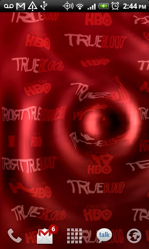 True Blood Live Wallpaper- screenshot
