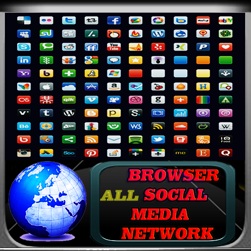 Social Media Network Browser LOGO-APP點子