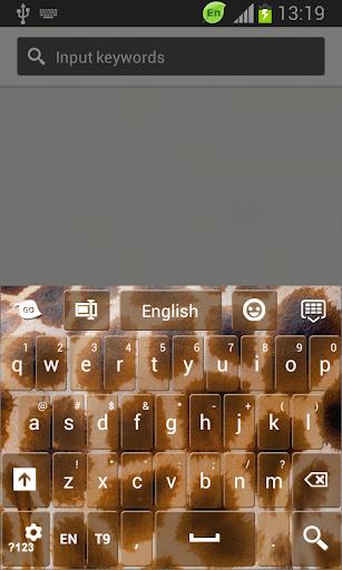 GO鍵盤豹紋