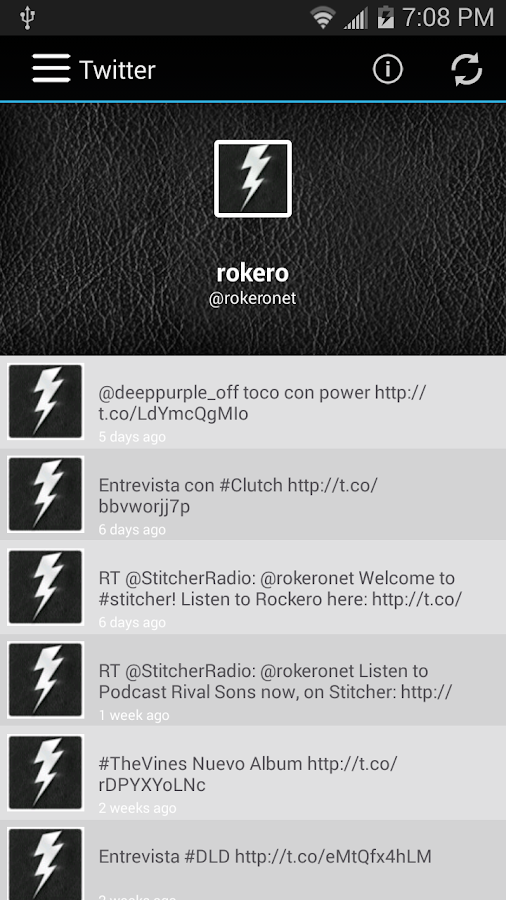 Rokero- screenshot