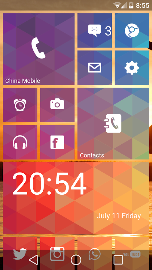 WP Launcher (Launcher 8)- screenshot