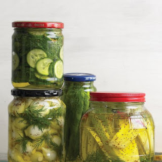 Fast Homemade Pickles.