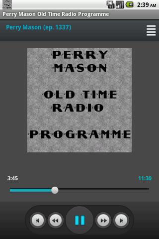 Perry Mason Old Time Radio