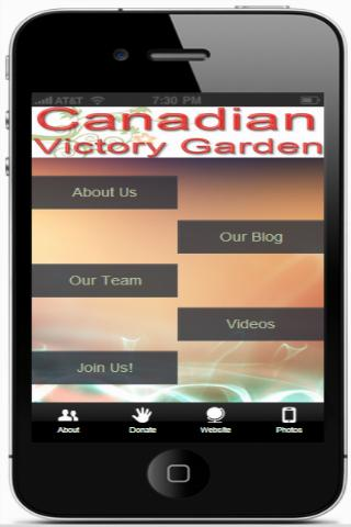 Canadian Victory Garden