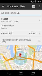 Geo-Alert - náhled