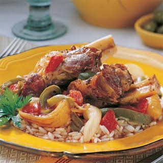 Turkish Lamb Shanks.
