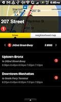 Screenshot of NYCMate (NYC Bus & Subway)