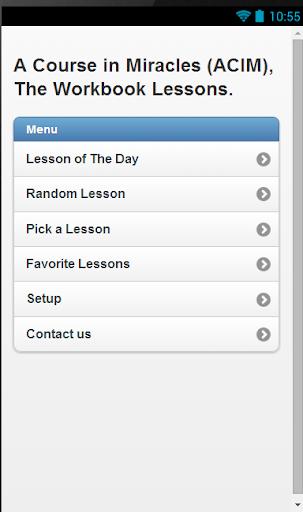 ACIM Daily Lesson App
