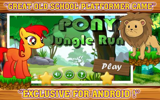 Pony Jungle Run