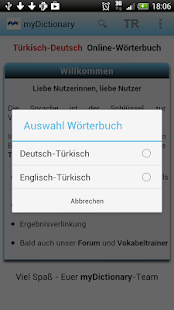 Türkisch Deutsch Wörterbuch- screenshot thumbnail