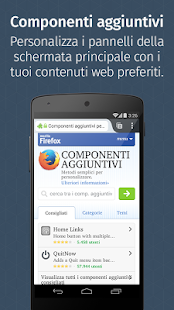 Firefox per Android - screenshot thumbnail