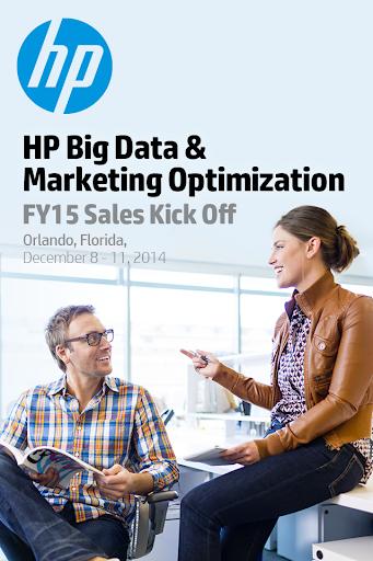 HP FY15 Sales Kick Off