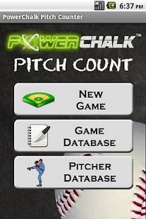 PowerChalk Pitch Count- screenshot thumbnail