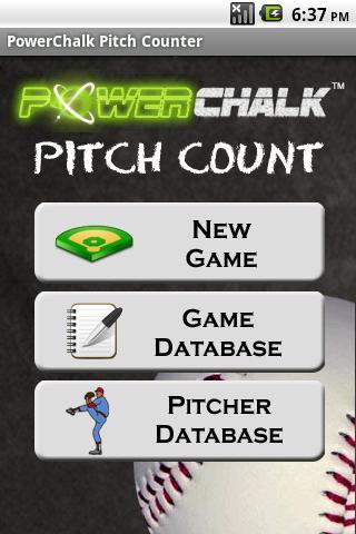PowerChalk Pitch Count- screenshot