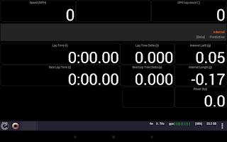 Screenshot of CMS Lap Timer (GPS Laptimer)