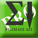 A Estimate ALL PRO logo