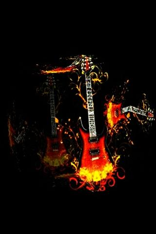 3D lovely Guitar - screenshot