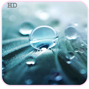 G3 Raindrops Live HD Wallpaper