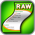 Raw Food Diet Shopping List icon