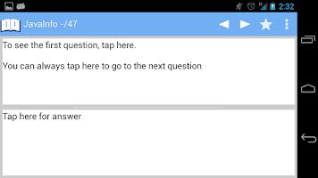 Screenshot of JavaInfo