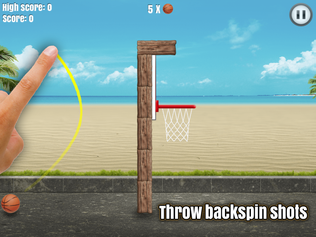 Through the Hoop - Basketball- screenshot