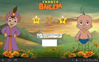 Screenshot of Fun Math with Chhota Bheem