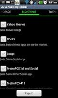 Screenshot of LG Connect Optimizer **ROOT**