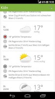Screenshot of Wetter-Vorhersage by wetter.de