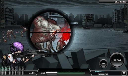 Ghost Sniper : Zombie- screenshot thumbnail