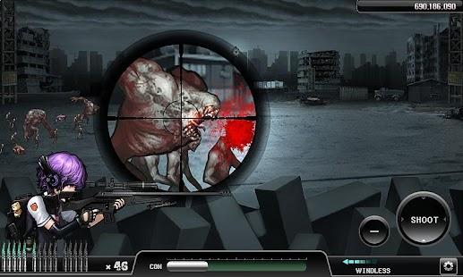 Ghost Sniper : Zombie - screenshot thumbnail