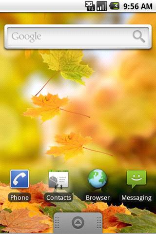 Live Wallpaper Leaves Free