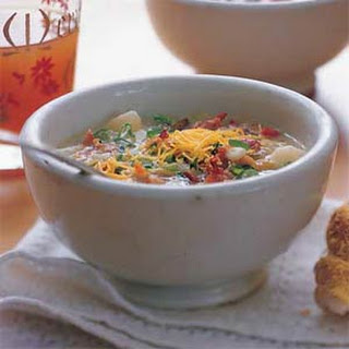Baked Potato-and-Bacon Soup.