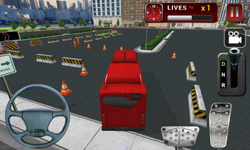 3D巴士停車場模擬器