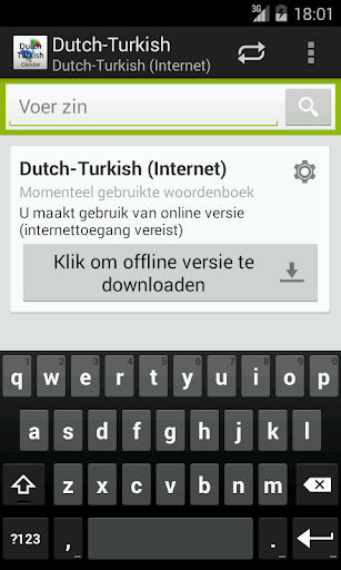 Dutch-Turkish Woordenboek