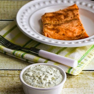 Ultra-Easy Double-Dill Diet Friendly Tartar Sauce.