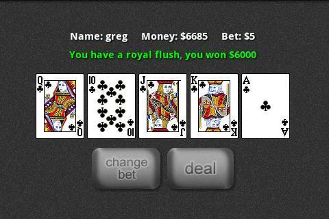 9 6 jacks or better strategy card war