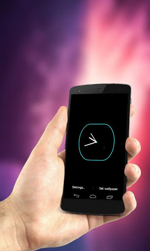 Battery Saver Analog Clock