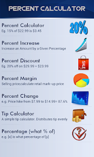 Percent Calculator- screenshot thumbnail