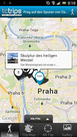 Screenshot 2 TcTrips Prag