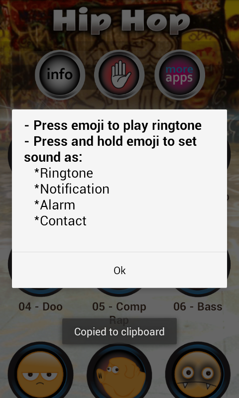 Hip Hop Ringtones - screenshot