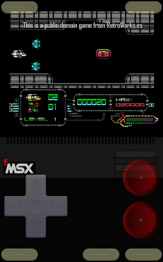 fMSX Deluxe - MSX Emulator - screenshot