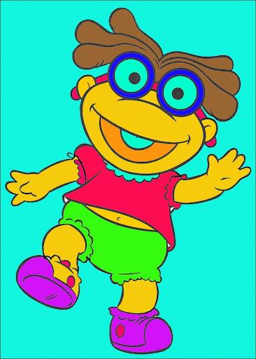 Kids Paint Muppets