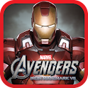 The Avengers-Iron Man Mark VII logo