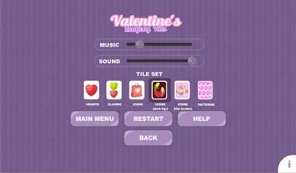 Valentine's Mahjong Tiles APK screenshot thumbnail 6
