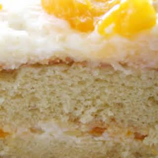 Mandarin Orange Cake I.