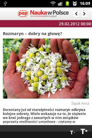 Nauka w Polsce – zrzut ekranu