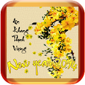 Lunnar New Year Text Wallpaper icon