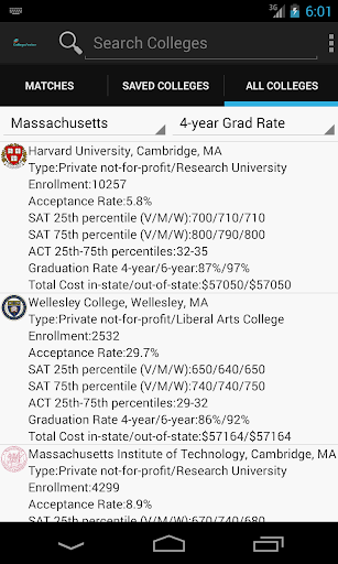 College Search Assistant