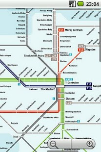 Stockholm Subway Maps Plus - screenshot thumbnail