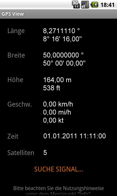 GPS View- screenshot